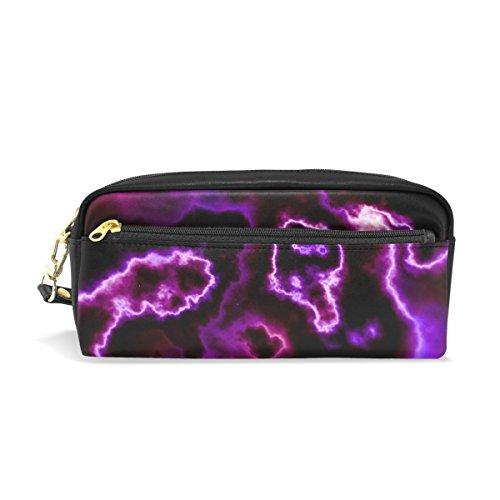 Halloween Abstrakt Cloud großes Fassungsvermögen Student Pen Tasche Wallet Kosmetik Make-up Tasche für Frauen ()