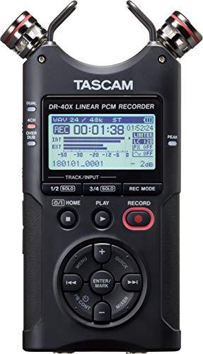 Tascam DR-40X Tragbarer Audiorekorder mit 4