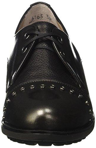 MELLUSO R25907 Grigio Chaussures Antracite Femme à Lacets ZvwUqxZ0