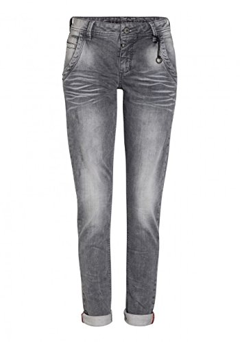 Timezone Damen Slim Jeans Regular Romy Jogg, Grau (Light Grey Wash 2085), W24/L32