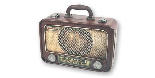 Dakota - Sammelbox/Sammelkoffer RADIO RETRO - 30376DK -