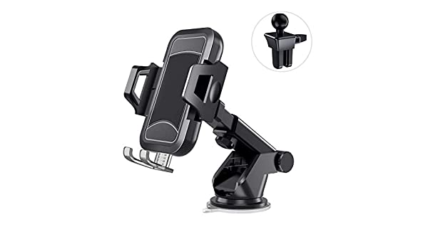 Cell Phone Holder for Car with Vent Clip /& Dashboard Pad Car Phone Mount Dashboard Windshield Air Vent Strong Sticky Suction Car Cradle itaomi Adjustable Compatible 3.5-6.7 Phone