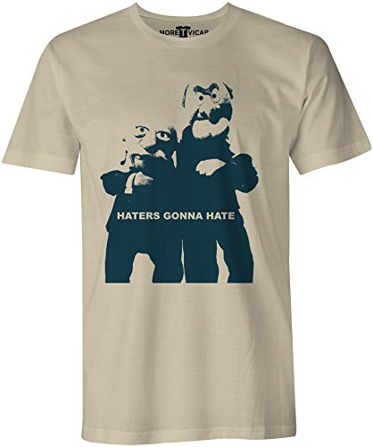 More T Vicar Haters Gonna Hate - Herren T Shirt