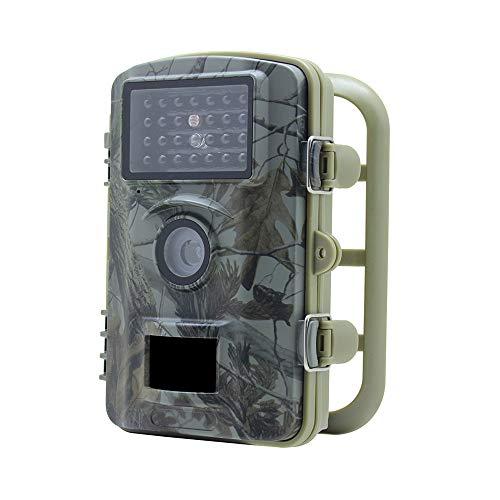 QUARKJK IP66 Wildlife Trail Camera 12MP 1080P HD Infrared Cam mit Night Vision 20m und 2.4 ' ' ' LCD-Display für die Außen-und Heimsicherheit