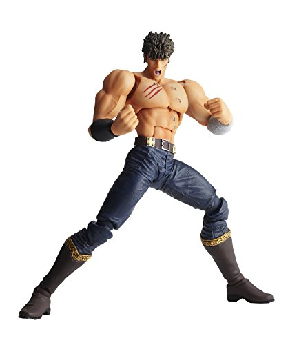 Kaiyodo Fist of The North Star Lr-039 : Combat Final Ken Le Survivantet Action Figure