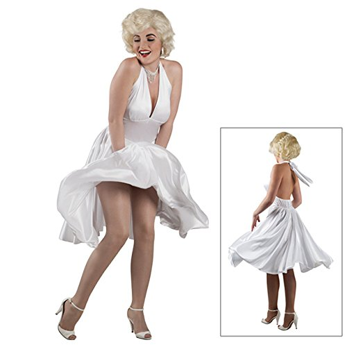 Kostüm Hollywood - Luxe 82236 Damen-Kostüm Marilyn, Einheitsgröße -Hollywood-Kostüm