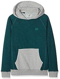 BILLABONG Balance Pullover Boy Jersey, Niños, Turquesa (Emerald 109), años (Tamaño del Fabricante:14)