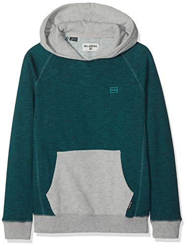 BILLABONG Jungen Balance Pullover Boy Türkis (Emerald 109), Jahre (Herstellergröße: 14) -