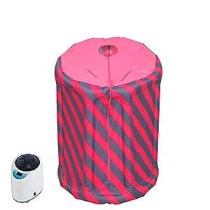 Wanforjewellery Faltender aufblasbarer dampfender Raum, beweglicher Zelt-Ausrüstungs-Detox-Maschine des beweglichen Whirlpool-Ganzkörper-Begasungs-Raumes
