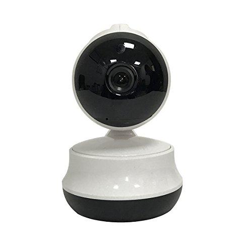 Telecamera wifi camera 1280 x 720 ip videocamera di sorveglianza visore notturno day&night monitoraggio video support audio a due vie? sensore di movimento? supporto notifiche push per iphone/ipad/smartphone