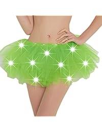 Gonna Tutu Donna-Adulto Classico Elastico in Vita Tutu Gonna in Tulle  Elegante Solida Colore Gonna Corte per Vestito Festa Halloween Costumi… 6fc0a3166fc5
