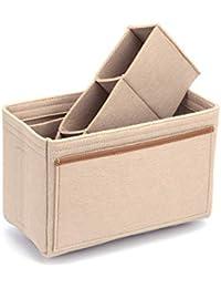 Lx-Top Felt Insert Bag Organizer Bolsa de Fieltro Organizador Insertar Multi-Bolsillo Talladora de Bolsos Divisor de Bolso Compatible…