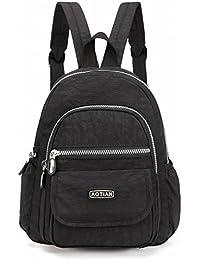 AOTIAN Nylon Lightweight Sturdy Little Casual Backpack, 7 L, Warranty 1-Year