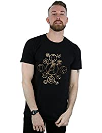 Absolute Cult Avengers Hombre Infinity War Icons Camiseta I9hKq39v