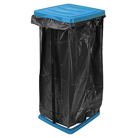 Müllsackständer 60l Blau Schwarz Müllständer Müllsackhalter Mülltonne Mülleimer Gelber Sack