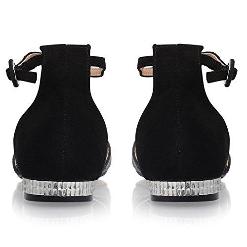 Ex Designer Brand , Sandales femme Noir
