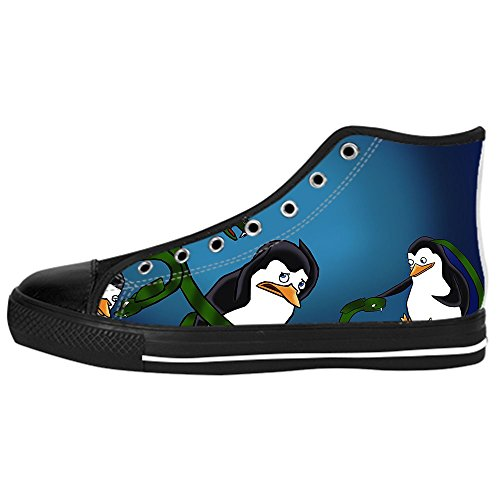 Dalliy pinguin Kids Canvas shoes Schuhe Lace-up High-top Footwear Sneakers D