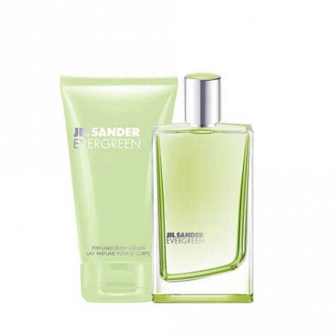 jil-sander-evergreen-geschenkset-edt-spray-30ml-body-lotion-75ml