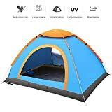 OneMtoss 2-3 Person Camping Dome Tent Waterproof Backpacking Tent for Sports Outdoor Camping Hiking Travel Family Beach with Carrying Bag,Blue