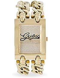 Guess Damen-Armbanduhr Analog Quarz Edelstahl W0313L2