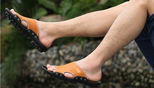 Sandales échassiers En Plein Air Chaussures De Plage Pour Hommes Multicolore Multi-taille Yellow