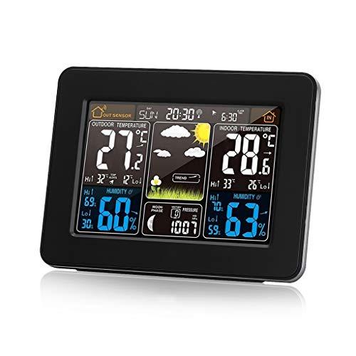 Termómetro Digital LCD Higrómetro Estación meteorológica inalámbrica