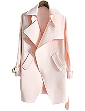 La Sra Sección Larga Capa De La Cintura Del Cordón De Gran Tamaño Capa Fina Multicolor Multi-tamaño,Pink-xxl