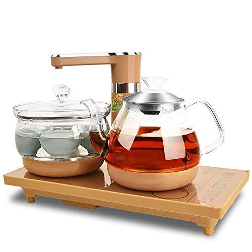 HONG Vier in Einem schnellen automatischen elektrischen Wasserkocher, Ausschalten Induktionsherd Tee, Wasser Addierer Wasserkocher-intelligente Temperaturregelung, Desinfektion,A