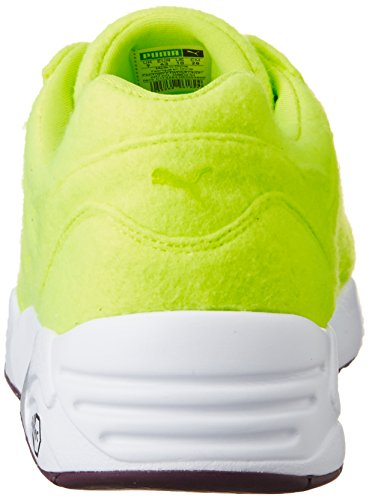Puma R698 Bright Trinomic Baskets Hommes green