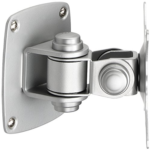 Low Profile Wall Mount for Flat Panel Monitor, Silver -