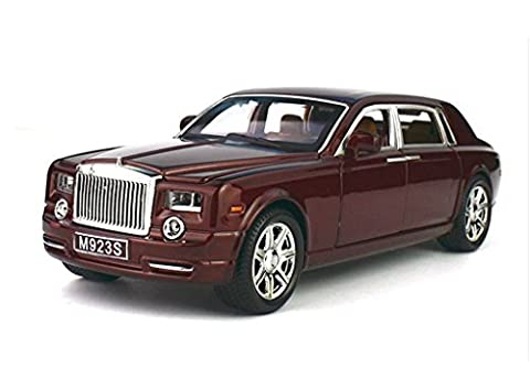 Toy car,Greshare 1:24 Rolls-Royce Phantom Diecast Sound & Light & Pull Back Model Toy Car New in Box