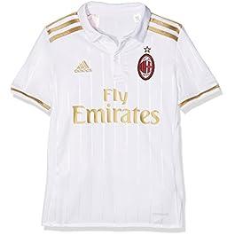 adidas ACM A JSY Y 2 Kit AC Milan 2015/16, Maglietta Unisex Bambini