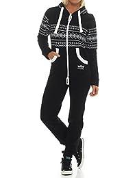 Finchgirl Azteken Muster Damen Jumpsuit Overall Jogging Training Anzug  Einteiler 32d4901337