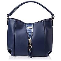 U.S. Polo Assn. Hobo Bag for Women- Blue