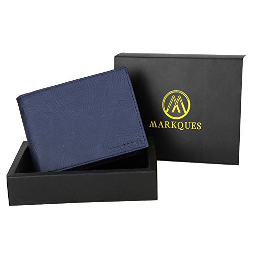 MARKQUES Blue Men's Wallet