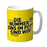 Borussia Dortmund BVB Tasse *** Die Nummer eins im Pott sind wir. *** Derbysieger 8.12.2018
