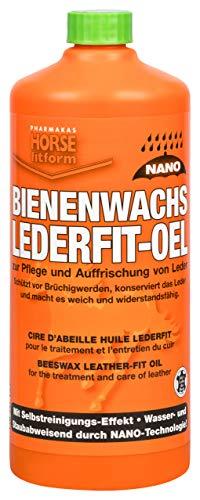 HORSE fitform Bienenwachs Lederpflegecreme, Nano, Lederpflege Leder Pflegecreme 1 L (Not-leder-schuhe)