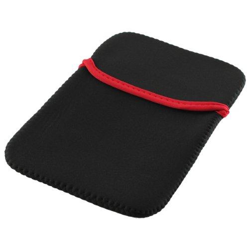 Premium Neopren Tasche schwarz für Tablets / Tablet-PCs mit 7-7,5 Zoll-Displayformat, z.B. Acer Icona B1-A71 / Archos Arnova GBook (502341) / ASUS Fonepad / MeMO Pad HD 7 / Ainol Novo 7 / a-rival BioniQ HD / Blackberry Playbook / Coby MID7065 / Gainward Galapad 7 / Google Nexus 7 / Nexus 7 2 / HP Slate 7 / HTC Flyer 3G / Huawei MediaPad 3G / MediaPad 7 / Media Pad 7 Vogue / Hyundai T7 / iconBIT NetTAB Sky 3G Duo (NT-3701S) / NetTAB Matrix DX / NetTAB Matrix Ultra / Intenso TAB724 / Kobo ARC 7