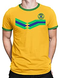 Tee Spirit Saudi Arabia Camiseta Para Hombre World Cup 2018 Fútbol New Style Retro kwChM