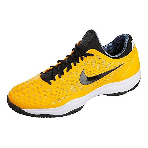 Nike Air Zoom Cage 3 HC, Scarpe da Tennis Uomo, Multicolore (University Gold/Black/White/Volt Glow 700), 49.5 EU