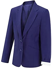 Girls Eco Schoolwear Jacket Outerwear Coat Children Formal School Uniform Blazer