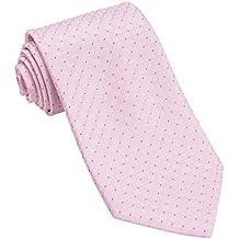 Corbatas de rayas clásicas hombres tejidos corbata