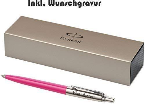 Parker Penna a sfera modello Jotter rosa esclusivo con incisione incisione laser inciso nuovo