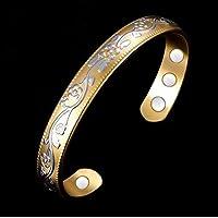 Bracelet magnétique en cuivre avec aimants Verbenia