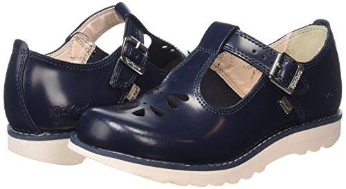 Kickers Suma, Leather, AF DK Blue, Mary Jane FemmeBleu (Dark Blue), 35.5 EU