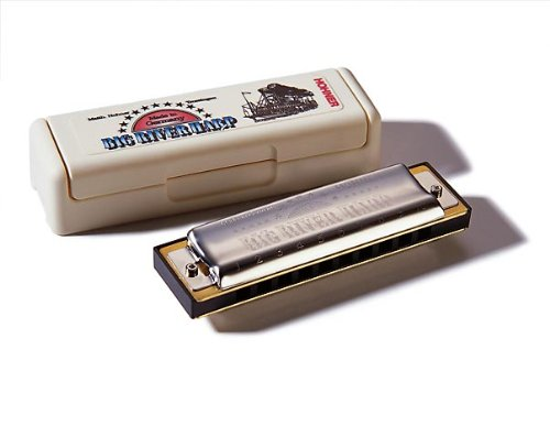 Hohner M590106 Big River Harp /Key A Harmonica  available at amazon for Rs.2048