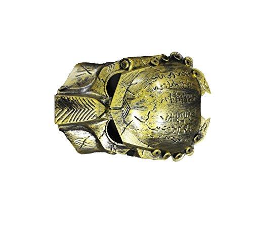 Unbekannt Horror Masken Freitag der 13. Masken Saw Predator Megatron Transformers Fasching Masken (Predator Gold) (Halloween-maske Predator)