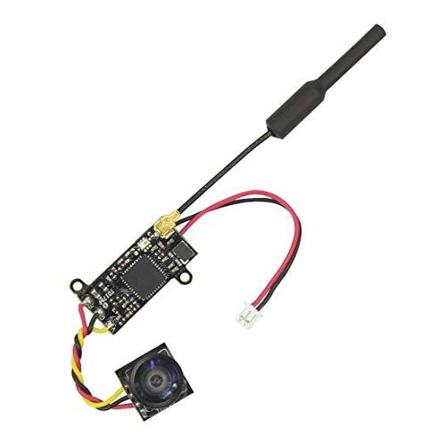 CUHAWUDBA Cámara Dividida FPV 1/4 5 Pulgadas Cmos Sensor de Imagen 700Tvl Ntsc 25Mw 48Ch para FPV Accesorio de Cuadricóptero Drone de Carreras