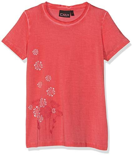CMP Mädchen T-Shirt 39T7555, Corallo, 176 -