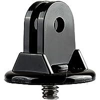 """SODIAL(R)Mini Soporte Adaptador tripode del montaje de tornillo Rosca de 1/4 """" Accesorios de Monopod para GoPro Hero 4 3 + 3 2 1 Camara"""